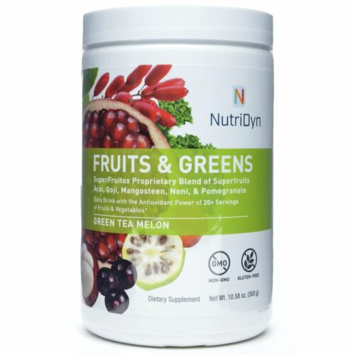 Fruits & Greens van NutriDyn
